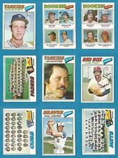 1977 Topps Baseball U Pick (1)