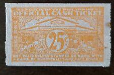 Philippines stamp CASH TICKET 25c