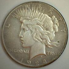 1928 Peace Dollar $1 Silver Liberty Coin Minted Philadelphia V.G. Very Good