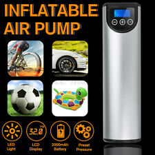 Wireless Air Electric Pump Inflator Car Bike Bicycle Auto Car Portable Air Pump