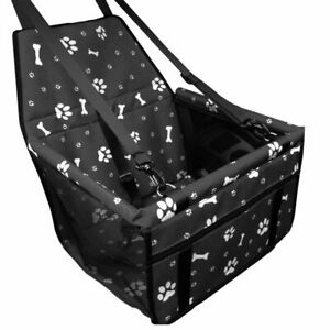 Pet Car Seat For Dog Cat Travel Box Booster Lining Chair Bag Hammock Carrier Us