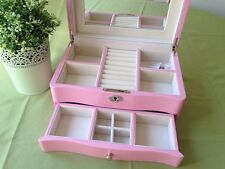 High gloss Piano Finish Jewellery Box  - pink 006