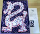 Keith Haring Foundation Sales Certificate Oil Canvas There are details