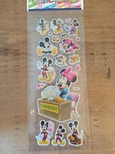 Mickey & Minnie Mouse Puffy Stickers-card Making-scrap Book-crafts-5 For 4!!