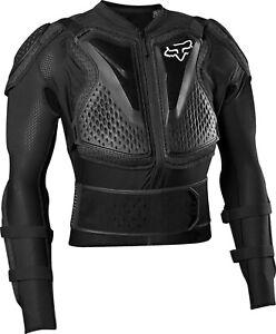 Fox Titan Sport Body Armour ACU CE Approved EN1621 Pressure Suit Black Adults