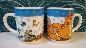 2 Mugs Arcopal Disney / Bambi