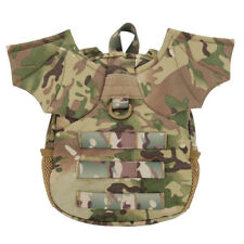 Camouflage Little Demon Wing Backpack for Girls Kids Tactical Paintball Airsoft