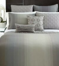 Hotel Collection Ombre Stripe Duvet Cover Full/Queen, Grey