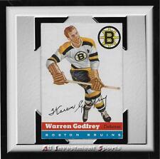 1954 Topps WARREN GODFREY #50 VG-EX+ *tough hockey card for set* DD17