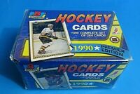 1990 BOWMAN HOCKEY CARD COMPLETE SET (1-264) Factory Sealed