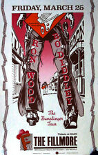 RON WOOD & BO DIDDLEY 1988 CONCERT POSTER