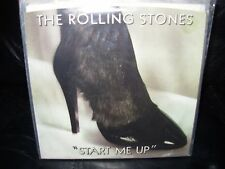 "ROLLING STONES start me up ( rock ) 7""/45 picture sleeve PROMO"