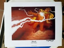 Magic The Gathering - Shock - Signed by Artist Randy Gallegos 1997