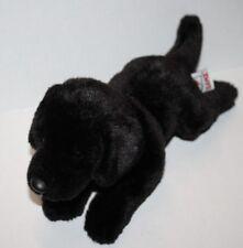 "Webkinz BLACK LABRADOR RETRIEVER DOG 11"" Lab Soft Toy Plush Stuffed H12026 Puppy"