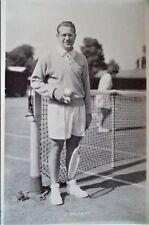 DROBNY JAROSLAV 1950's ORIGINAL PHOTOGRAPHIC TENNIS POSTCARD