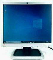 "HP 19"" LCD Desktop Monitor Tested L1910 w/ VGA/Power Cables Grade A Display VESA"