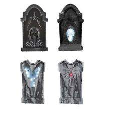 3ft Scary Tombstone LED Display Set of 4 Halloween Decor Prop Outdoor Indoor NEW