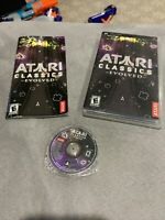 ATARI CLASSICS EVOLVED - PlayStation Portable PSP Complete in Box CIB w/ Manual