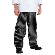 Chef Revival Black/White Pin Stripe E-Z Fit Pant - size Xs - P040Ws-Xs