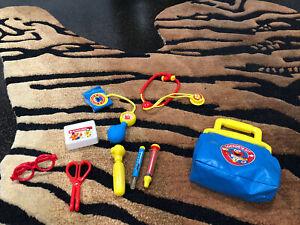 "Vintage Sesame Street ""Elmo"" Toy Doctors Kit"
