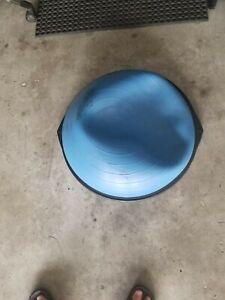 "Original The BOSU Ball 26"" Home Balance Trainer Workout Yoga Exercise Blue - EUC"