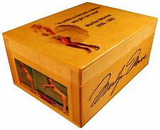 Marilyn Monroe figure doll Movie, Autographed Box, Print, Quote Dress Wig Gift