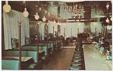 Postcard Interior of Fair Lawn Star Diner in Fair Lawn, New Jersey~107291