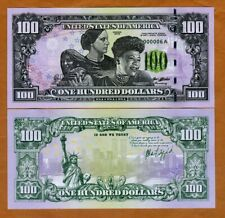 $100 USA private Issue Racial Unity 2018 Stature of Liberty Twin Towers