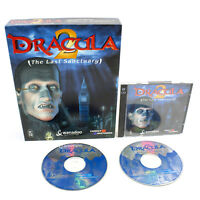 Dracula The Last Sanctuary for PC CD-ROM in Big Box by Wanadoo, 2000, VGC
