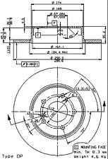Bremsscheibe (2 Stück) BREMBO MAX LINE - Brembo 08.7211.76