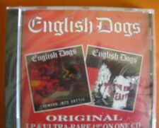 English Dogs To The Ends Of The Earth/Forward Into Battle CD NEW SEALED Punk Oi!