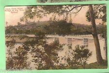 AUSTRALIAN POSTCARD - LANE COVE RIVER, FIG TREE BRIDGE, SYDNEY, 1909