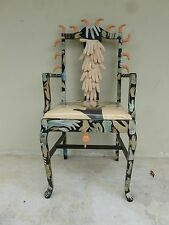 WILD SURREALIST HAND AND FINGER ART CHAIR IN THE MANNER OF PEDRO FRIEDEBERG