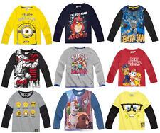 Vêtements Disney pour garçon de 2 à 16 ans en 100% coton