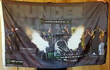 Monster Energy Drink NHRA Sign Flag Banner Poster John Brittany Force Dragster