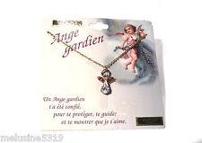 """Bijoux Esotériques """" Collier Ange Gardien No 4  Cristal Véritable (P15) Necklace"""