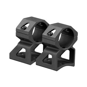 """High Rise 1"""" See Through Rings For Ruger 10/22 .22LR Rifle"""
