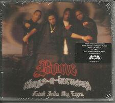 BONE THUGS N HARMONY Look into my eyes INSTRUMENTAL & CLEAN CD single USA Seller