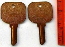 2 Vintage Schlage Sc1 Large Head Key Blanks