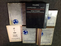 2001 Ford Mustang Gt Cobra Mach Service Shop Repair Manual Set W EWD PCED Worn