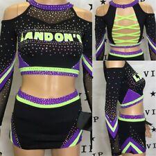 Real Cheerleading Uniform Allstar Landons Adult Sm