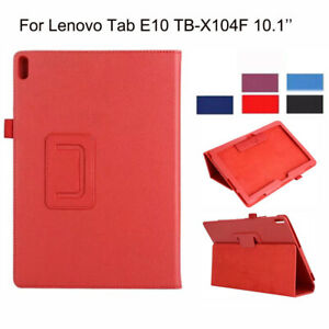 Protective Case For Lenovo Tab E10 TB-X104F 10.1'' Tablet PU Leather Stand Cover