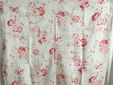 Beautiful Antique French Roses Floral Cotton Panel Pink Roses