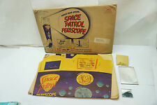 VINTAGE SPACE PATROL PERISCOPE MAIL AWAY RALSTON PURINA 1950s COMPLETE +ENVELOPE