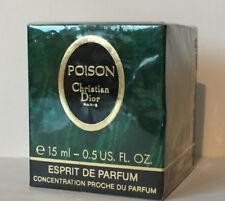Christian Dior POISON ESPRIT DE PARFUM CONCENTRATION PARFUM 15 ml Vintage Rare