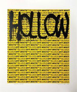 Takashi Murakami x Virgil Ablol 'Hollow Man' Ltd Ed. Signed. Silkscreen
