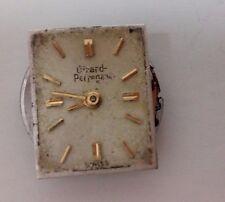 Reloj de Pulsera Vintage Señoras Girard Perregaux De 17 Joyas Movimiento Repuestos/Reparación