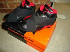 Ringstar Sparring Shoes New - In Orginal Box - Size 3 / 4 Black Red