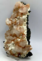 Rare Heulandite  Crystals Matrix On Mordenite Mineral Specimen S8A45
