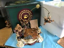 """Boyds Bearstone """"The Flying Lesson This End Up-#11-ks"""